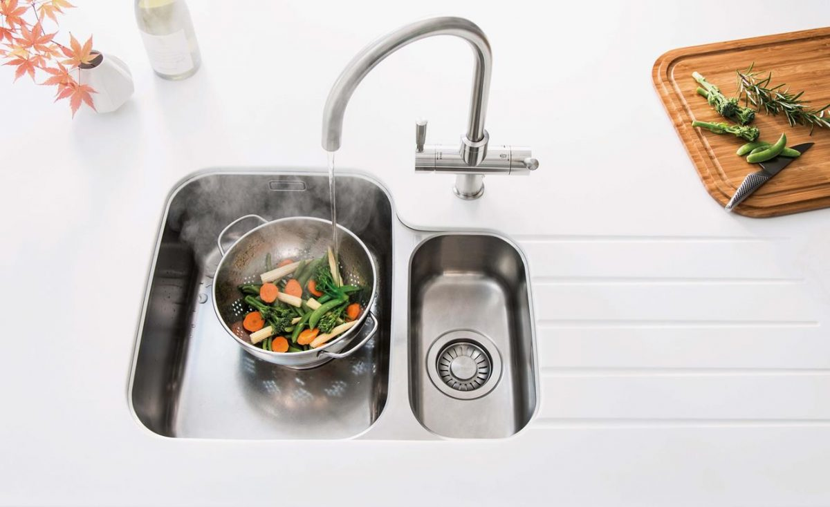 Sinks and Taps - Aspire Trade Kitchens - German and British Built ...