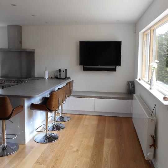 Handleless Modern German Kitchen, Lenzie